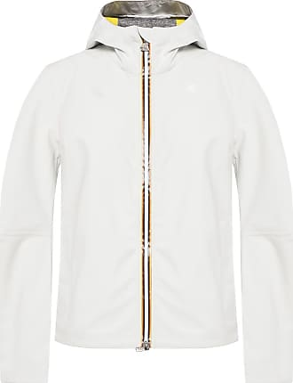 K-Way Hooded Rainjacket Womens White