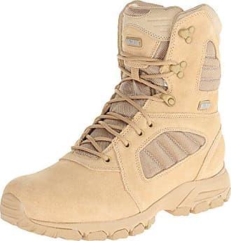 Magnum Mens Response III 8.0 Side-Zip Slip Resistant Work Boot,Desert Tan,9.5 M US