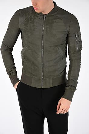 Rick Owens RAGLAN BOMBER Leather Jacket size 56