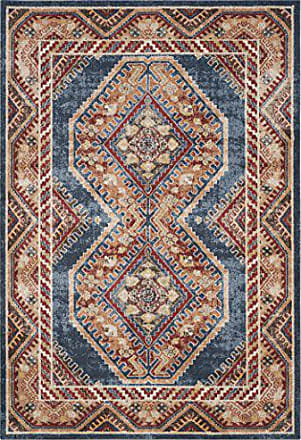 Safavieh Adalyn Gewebter Teppich, BIJ647B, Royal / Rost, 243 X 304 Cm