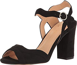 xoxo Womens Elroy Dress Sandal Black 7 M US