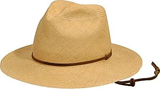 192f462bcd6 Pantropic Mens Genuine Panama Straw Fedora Explorer Hat with Pinch Front