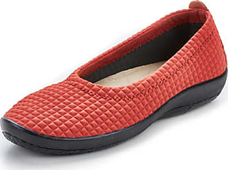 Avena Damen Hallux-Soft-Slipper Orange einfarbig Gr. 36, 37, 38, 39, 40, 41, 42, 43