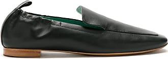 Blue Bird Shoes Babuche Attarine de couro - Preto