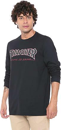 Independent Camiseta Independent Thrasher Preta