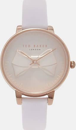 Ted Baker Bow Detail Watch in Baby Pink ANELLIA, Womens Accessories