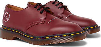 Undercover + Dr. Martens 1461 Printed Leather Derby Shoes - Red