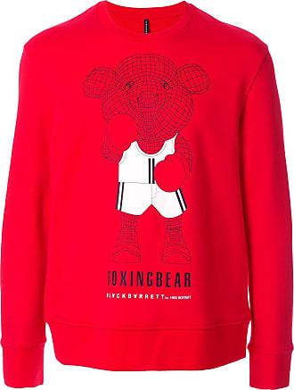 Blackbarrett Suéter com estampa - Vermelho