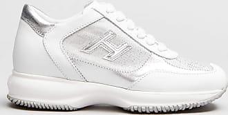 Rabaini Hogan - Sneakers Interactive dettagli argento - Bianco