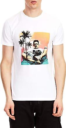 Weekend Offender Mens Shaun SS T-Shirt White (Medium)