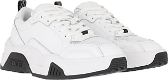 Versace Jeans Couture Sneakers - Chunky Soft Leather Mesh Sneakers White - white - Sneakers for ladies