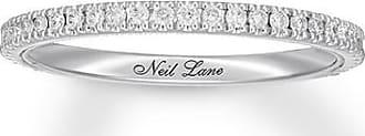 Neil Lane Studio Diamond Wedding Band 1/5 ct tw 14K White Gold