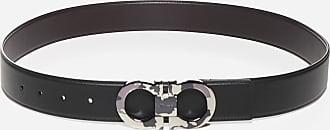 Salvatore Ferragamo Gancini reversible leather belt - SALVATORE FERRAGAMO - man