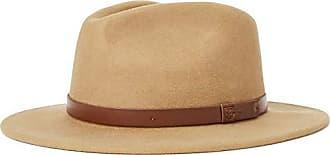1e6bf879410ad Brixton Mens Messer Medium Brim Felt Fedora HAT, Tobacco, L