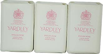 Yardley by Yardley ENGLISH ROSE LUXURY SOAPS 3 x 3.5 OZ EACH (NEW PACKAGING) for WOMEN -(Package Of 2)