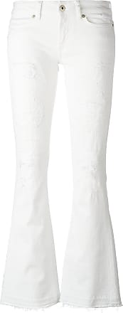 Dondup flared jeans - White