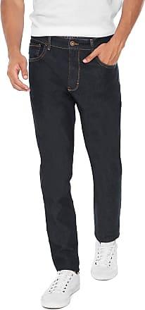 Triton Calça Jeans Triton Slim Pespontos Azul