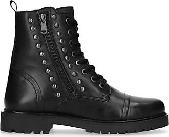 Shoecolate Schwarze Biker Boots mit Nieten (36 37 40 41) b3c3ec8f16