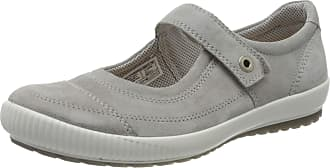 Legero Womens Tanaro Closed Toe Ballet Flats, Grey Aluminio Grau 25, 4.5 UK