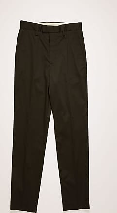 Acne Studios FN-MN-TROU000020 Black Slim-fit cotton trousers