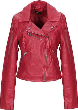 various colors c758c c20e1 Giubbotti In Pelle in Rosso: Acquista fino a −61% | Stylight