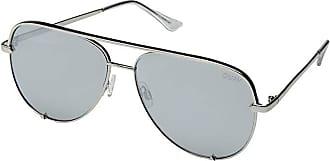 Quay Eyeware High Key QUAY X DESI (Silver/Silver) Fashion Sunglasses