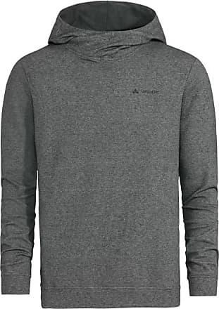 Vaude Tuenno Pullover Hoodie für Herren | grau/schwarz
