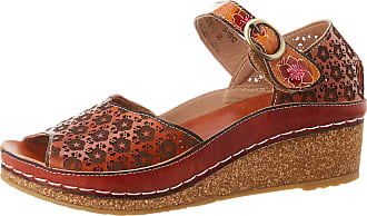 Laura Vita Womens Facscineo 03 Open Toe Sandals, Brown (Camel Camel), 5 UK