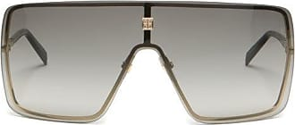 Givenchy Aviator Flat-top Mask Sunglasses - Mens - Black