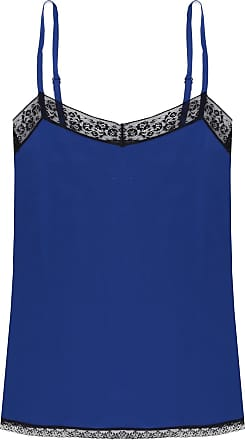 Zadig & Voltaire Lace-trimmed Top Womens Blue