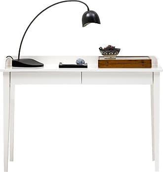 Oliver Furniture Konsolbord / skrivbord två lådor vit, oliver furniture