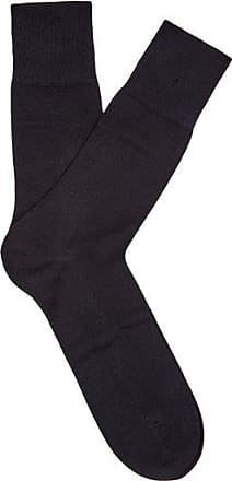Falke Tiago City Cotton-blend Socks - Mens - Black