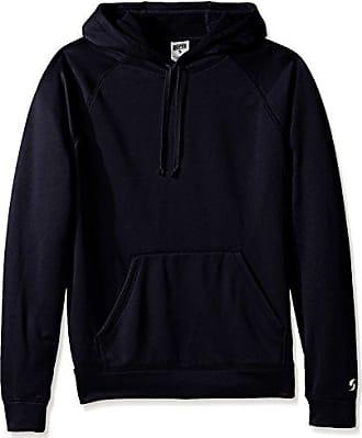 Soffe Mens Adlt Poly Tech Fleece Hood, Navy X-Large