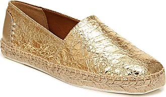 Franco Sarto Womens Kenna Loafer Flat, Gold, 8.5 Wide