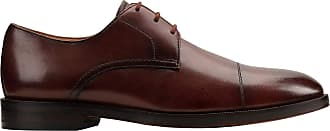 Clarks Oliver Cap Leather Shoes in Standard Fit Size 10.5 Brown