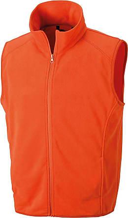 Result Core Mens Micro Fleece Gilet (2XL) (Orange)