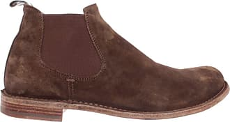 Officine Creative Mens Shoes Ankle Boots Ideal /055 Softy Sigaro Suede New Brown