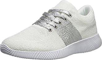 Qupid Womens SPYROCK-09 Sneaker, White, 10 M US