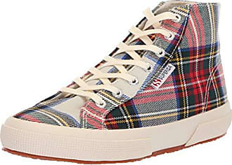 ea339b94f4dc Superga Womens 2795 TARTANBINW Sneaker red Plaid 41.5 M EU (10 US)