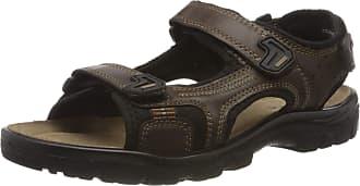 Rohde Mens Matera Ankle Strap Sandals, Brown (Espresso 71), 10.5 UK
