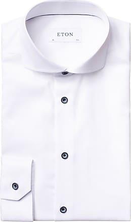 Eton Hochwertiges Businesshemd, Slim Fit von Eton in Weiss für Herren