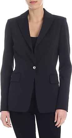 Pinko Signum 6 jacket in black milan point fabric