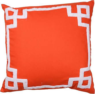 A & B Home 18 in. Embroidered Pillow