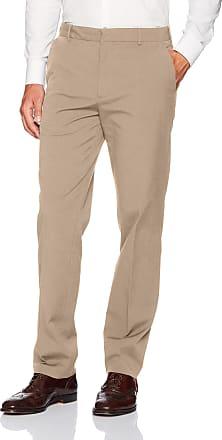 Van Heusen Mens 505M124 Casual Pants, Khaki, 34W x 34L