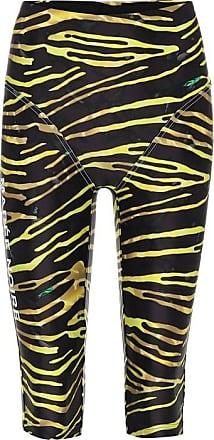 Marine Serre Shorts stretch a stampa zebra