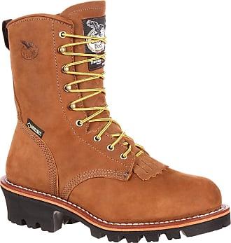 Georgia Boot Mens G9382 Logger Work Shoe