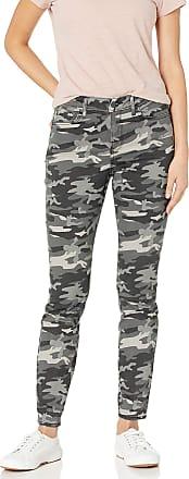 NYDJ Womens AMI Skinny Legging Jeans, Grey Camo, 10 29