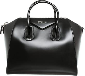 Givenchy gebraucht - Givenchy-Antigona aus Leder in Schwarz - Handtasche - Damen - Leder