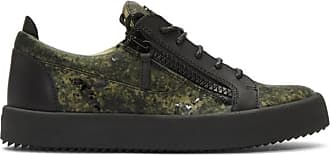 noires London et Zanotti vertes Giuseppe Baskets May Camouflage bIvf7gY6y