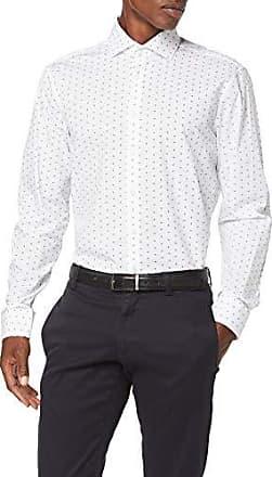 100/% Baumwolle Seidensticker Herren Business Hemd Comfort Fit B/ügelleichtes Hemd mit Kent-Kragen und bequemem Schnitt Langarm
